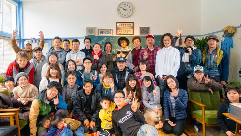 ファンフェス参加者の集合写真