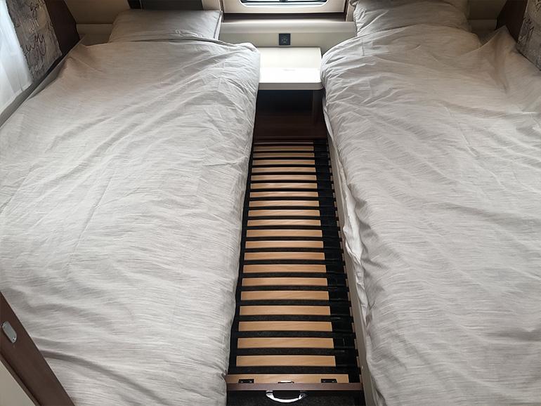 Hobby495UL ベッド拡張