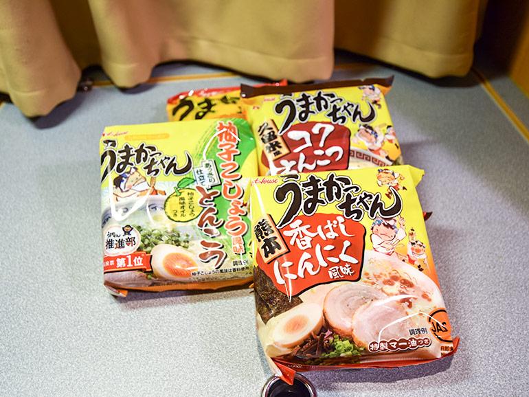 インスタント袋麺