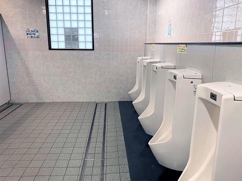 道の駅 潮見坂 トイレ