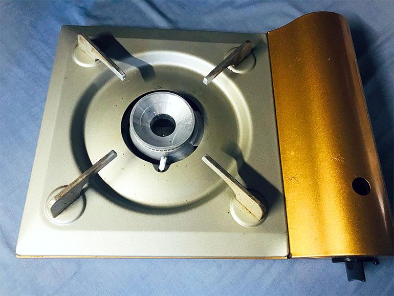 イワタニカセットコンロ 薄型タイプ
