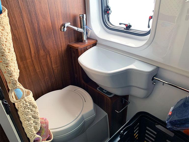 リビングストーン5 トイレとシャワー