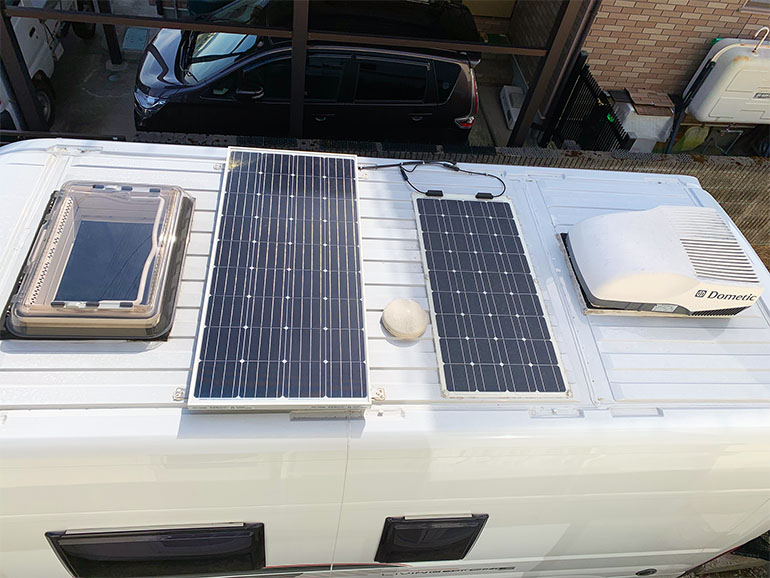 リビングストーン5 ソーラーパネル