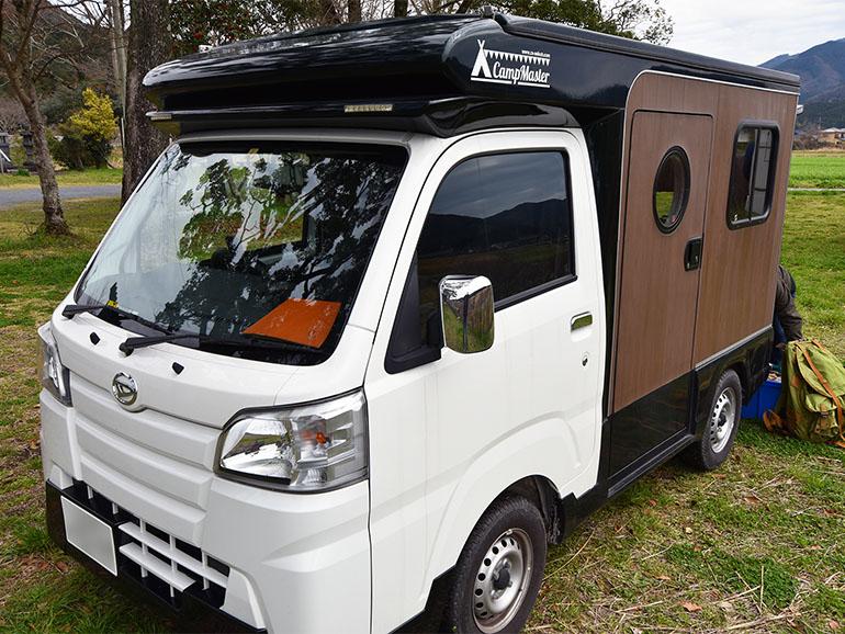 軽キャンピングカー 外装