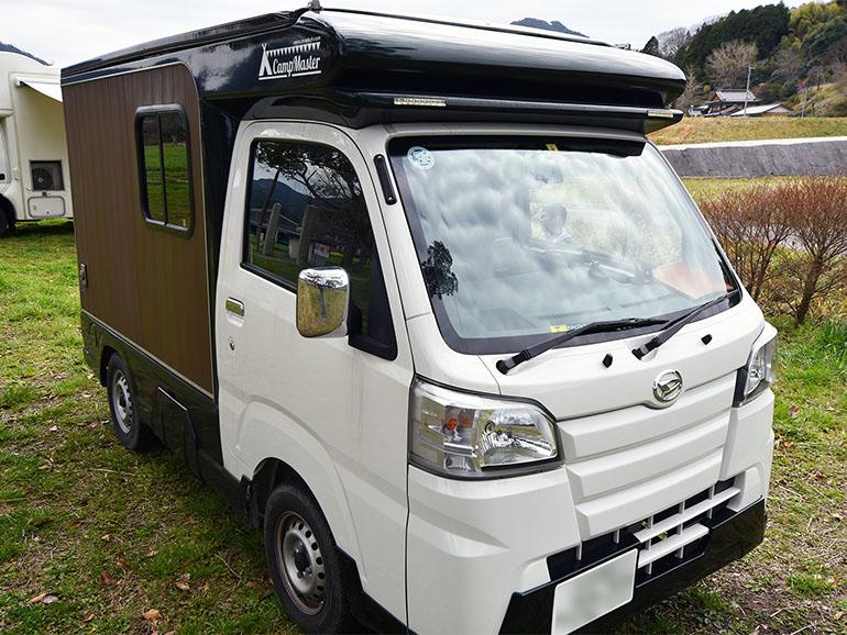 軽キャンピングカー 外装2