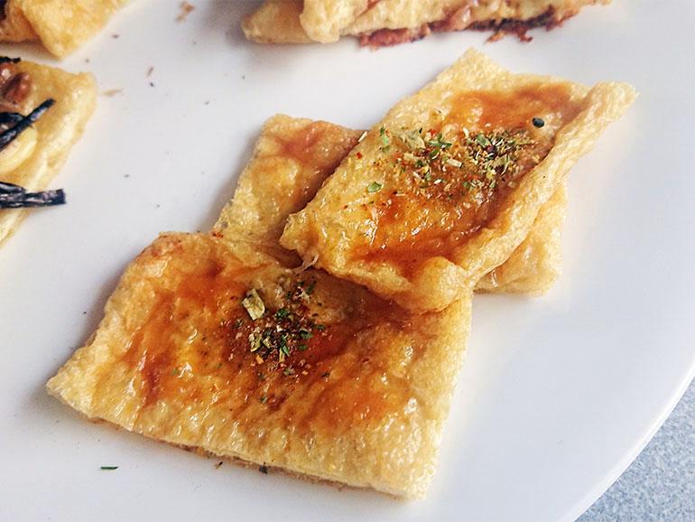 ピリ辛ネギ味噌焼き