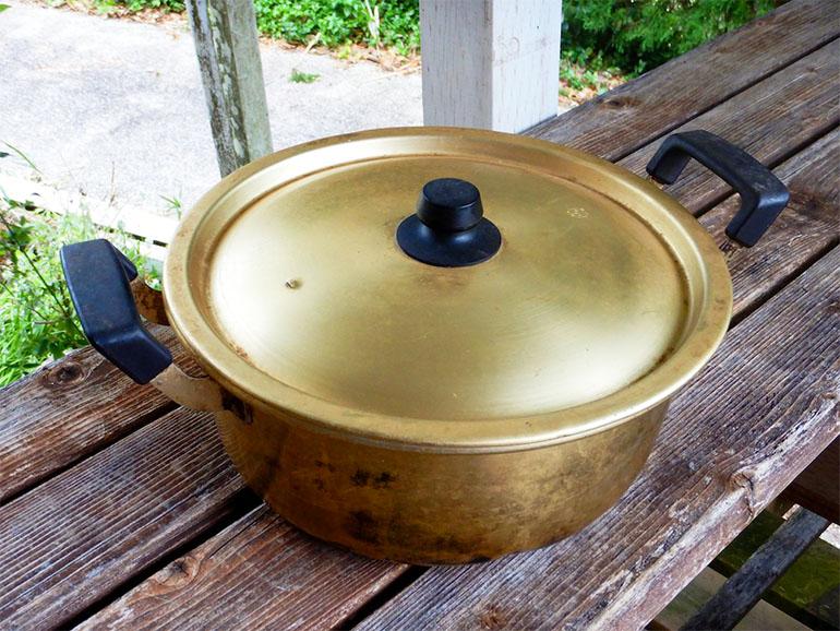 アルマイト鍋