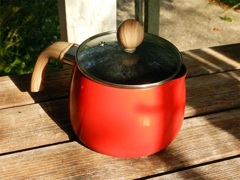 ケトル兼用鍋