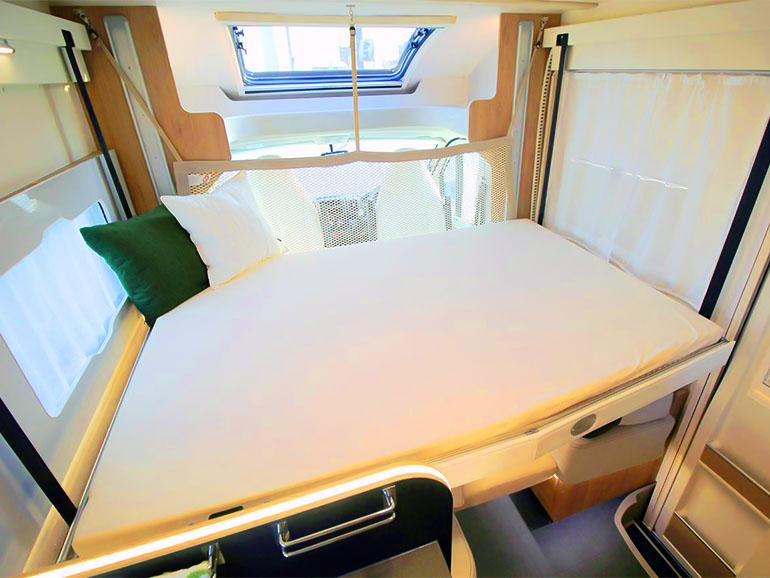 フジカーズジャパン ROLLER TEAM Zefiro 235TL ベッド