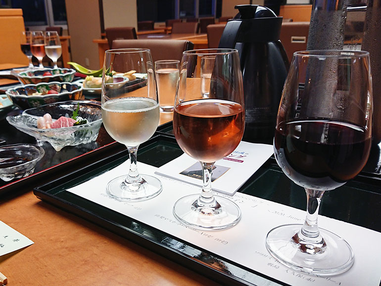かんぽの宿くるまパーク石和 ワイン