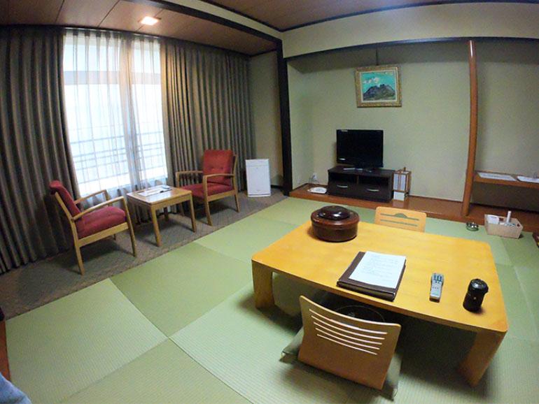 かんぽの宿石和 客室