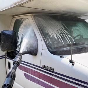 キャンピングカーの洗車とボディ研磨・コーティング方法を紹介!