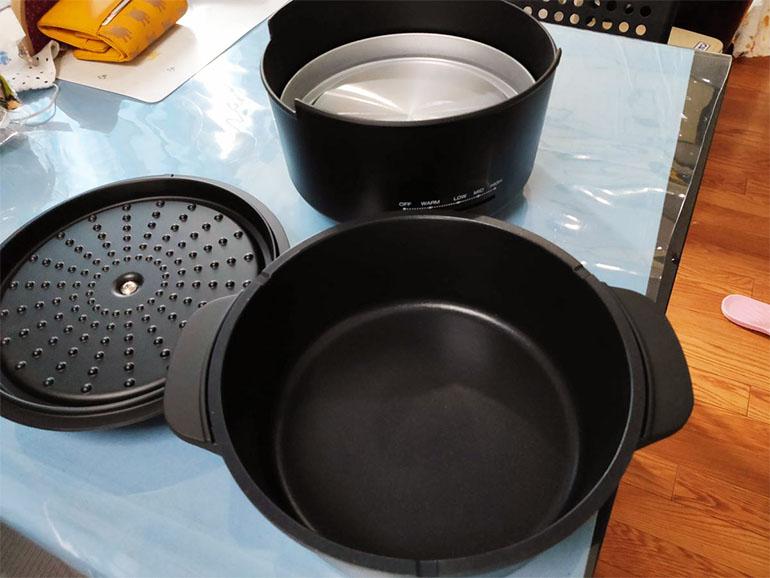 『山善』の電気鍋 内鍋