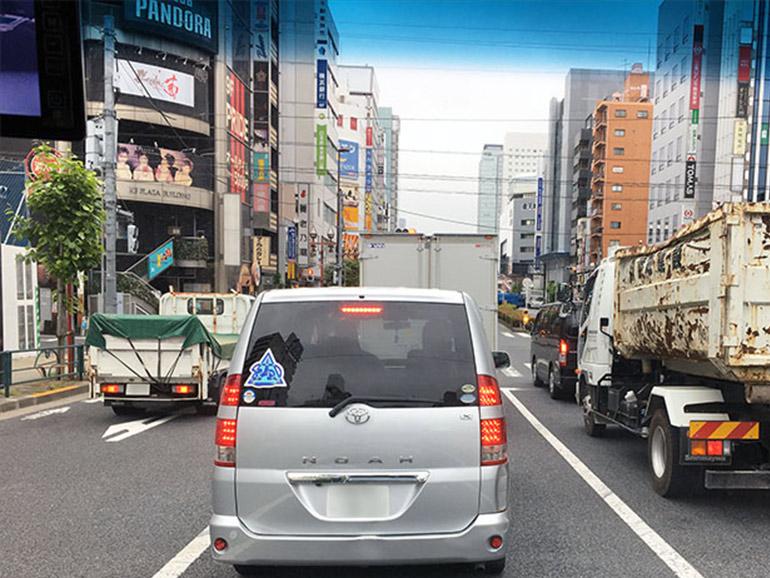 都内の交通風景