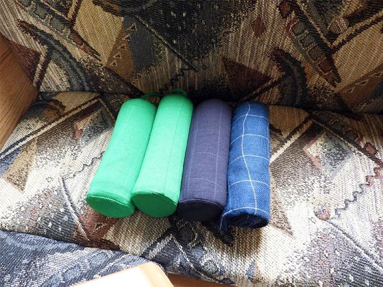 4人分の毛布