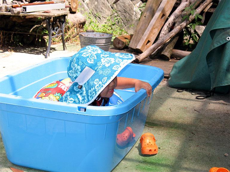 野菜洗い桶