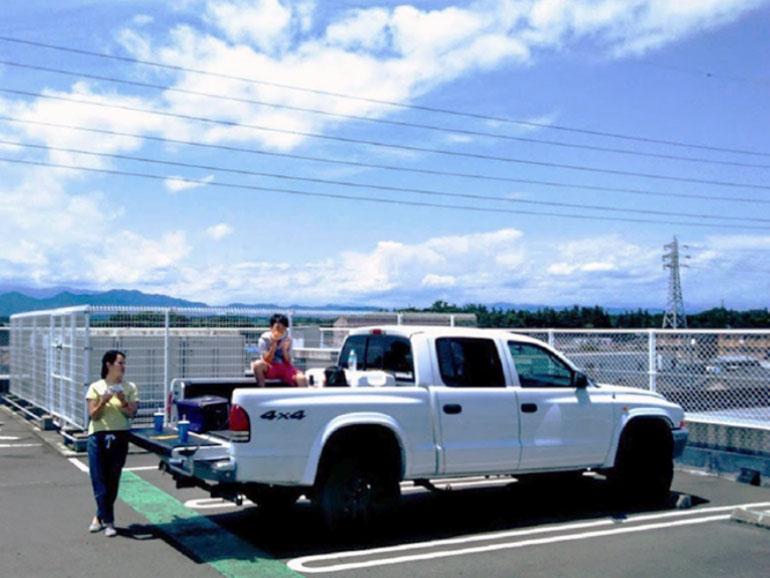 トラックのみ駐車