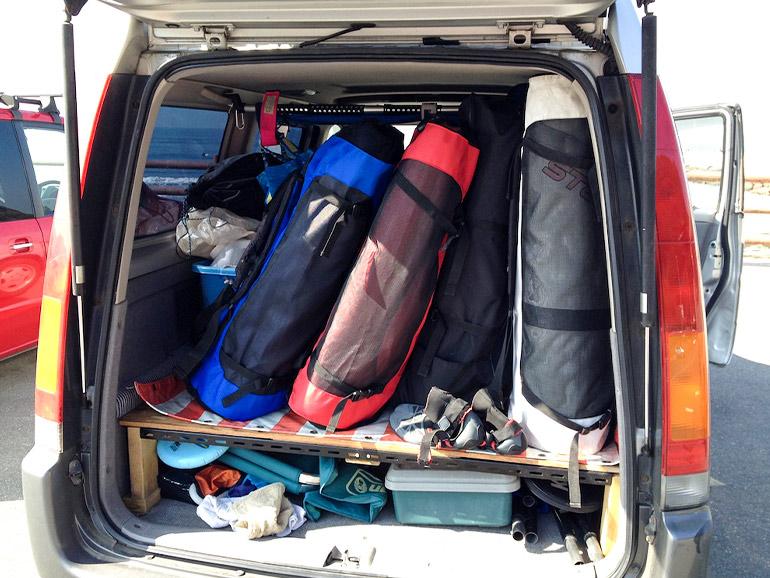 ステップワゴン 荷室