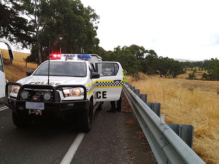 オーストラリアの警察官