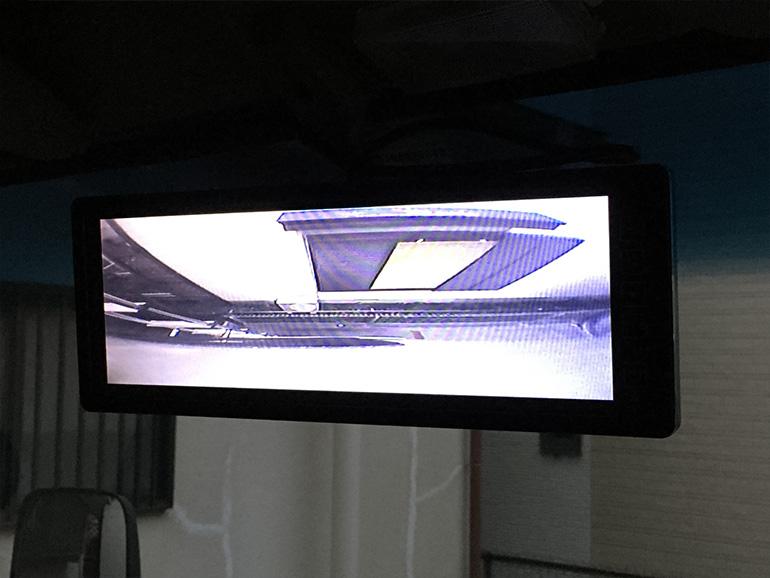 キャンピングカー バックカメラ