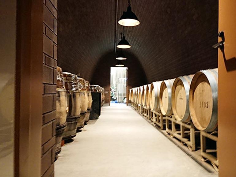 NIKI Hills Winery(仁木ヒルズワイナリー) ワイン樽