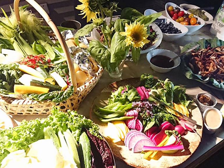 たくさんの彩り豊かな野菜