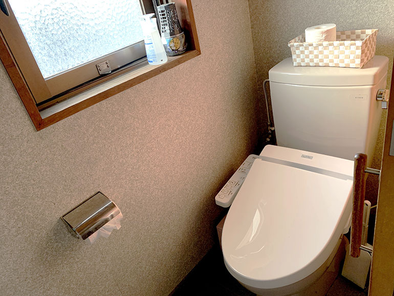 だるま屋旅館 トイレ