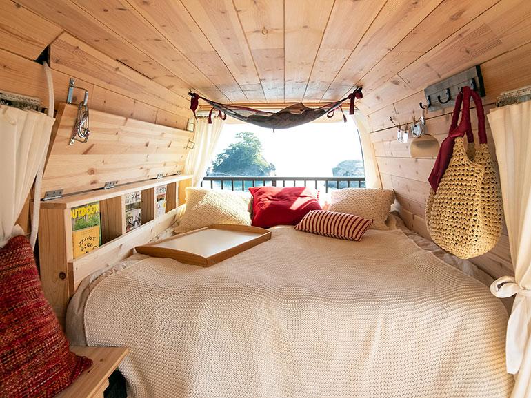 バンライフ ベッド