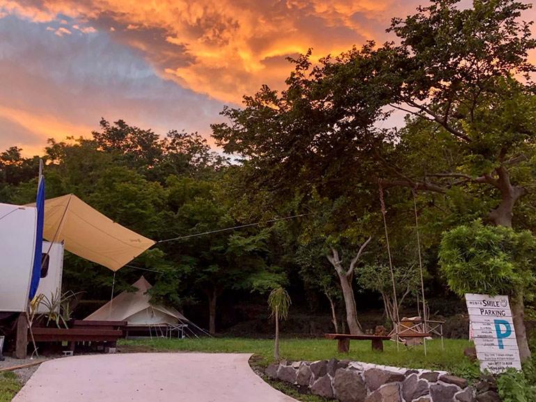 伊豆海の森スマイルキャンプ場