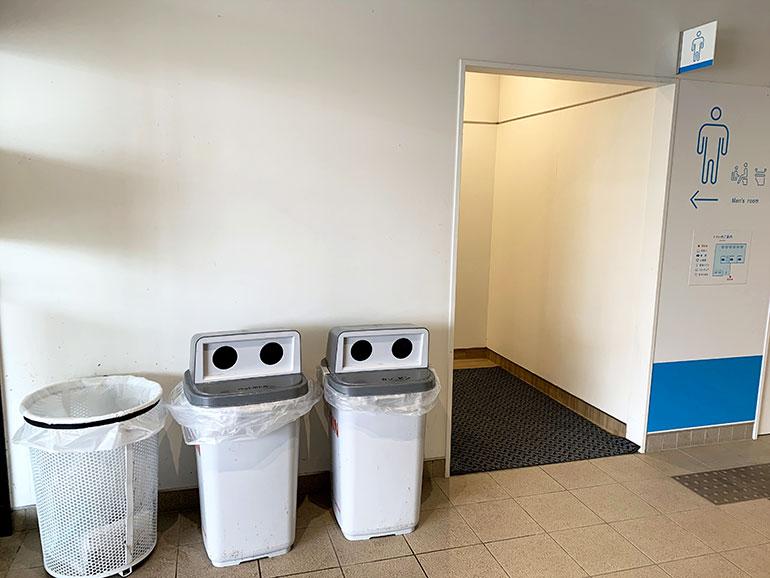 道の駅 のと千里浜 ゴミ箱