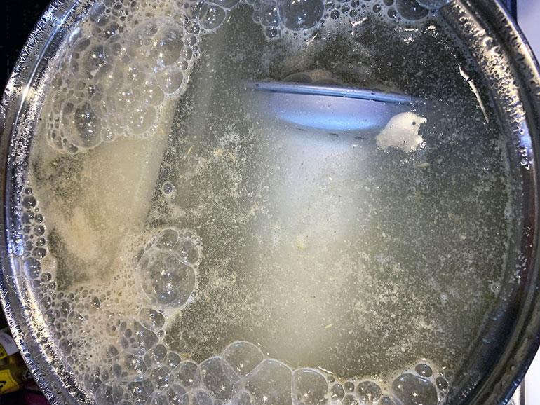 メスティンとアルポット シーズニング 沸騰