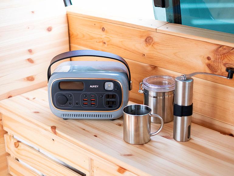 AUKEY「Power Studio」とコーヒー