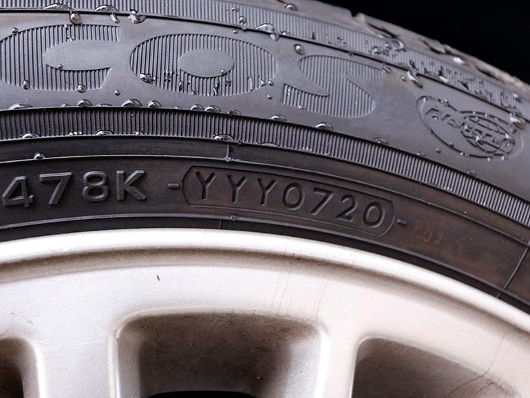 タイヤ 製造年月日