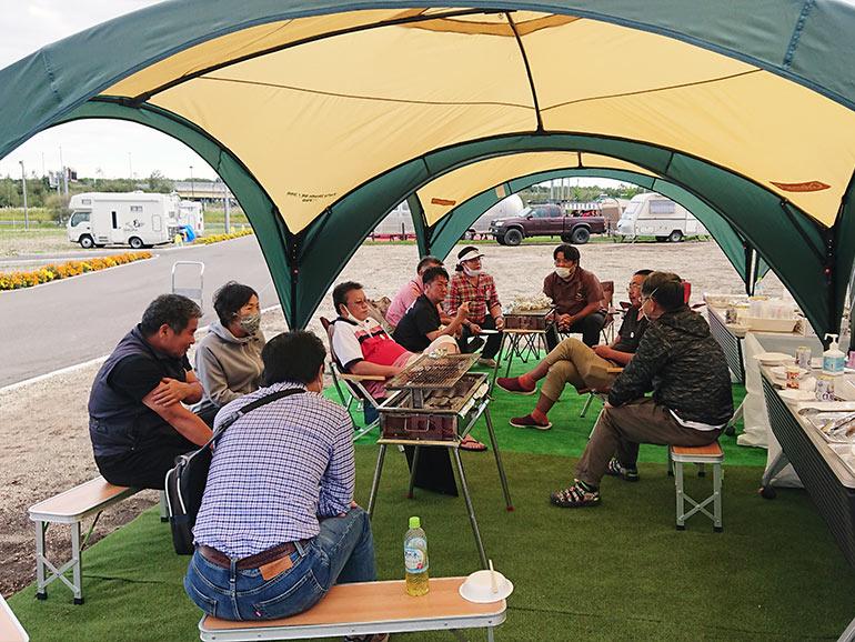 北海道観光ステーションDMO新千歳空港サービスセンター/北海道観光ステーション翼の杜 有料キャンプエリア