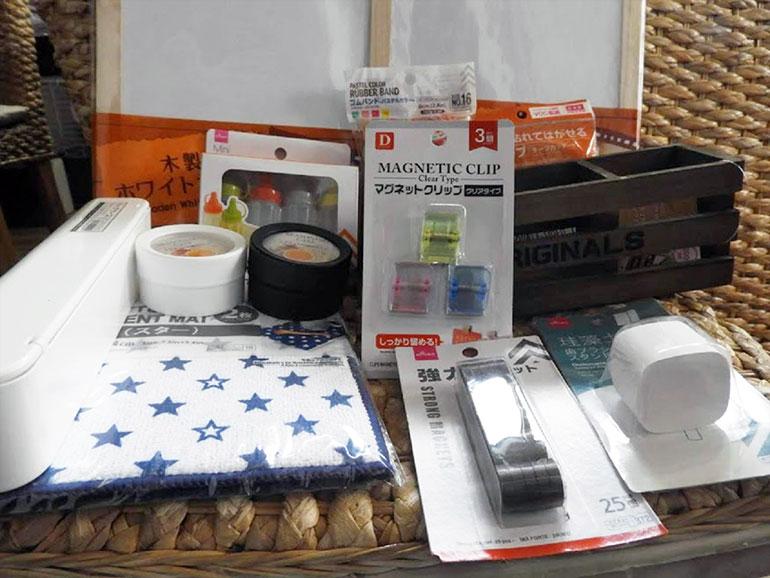 調理道具とマグネット