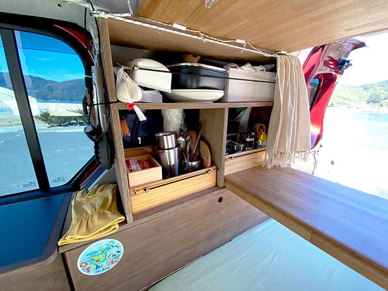 DIYで自作した棚