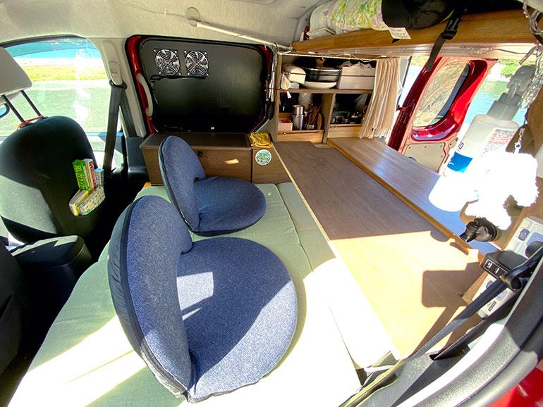 DIYの机と座椅子
