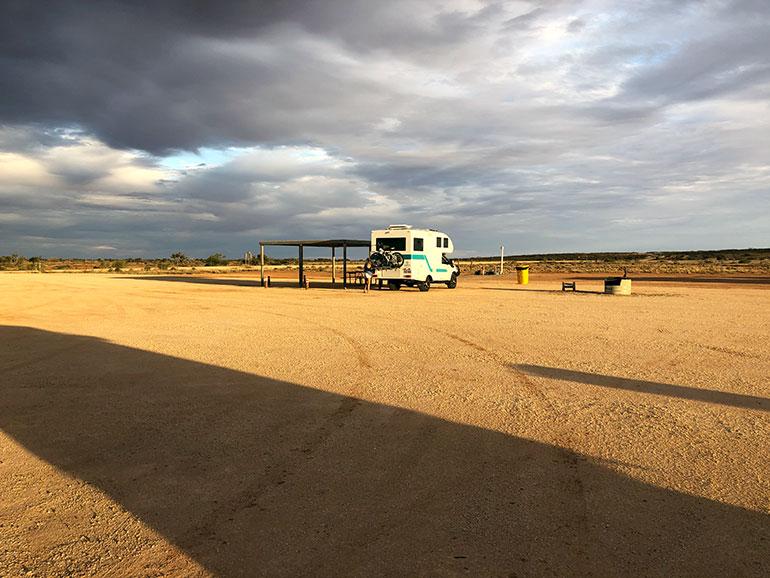 オーストラリア 無料休憩所