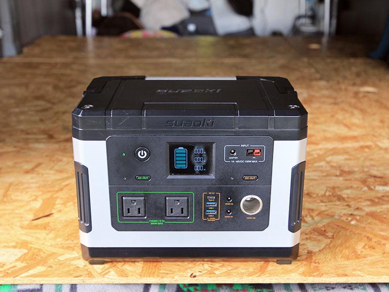 suaokiのG500のポータブル電源