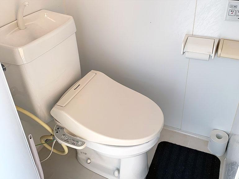 RVパークみうら トイレ2