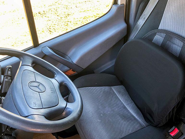 運転席のシート