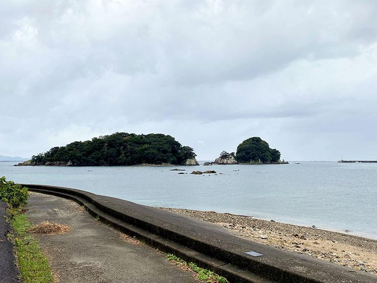 海と咸陽島