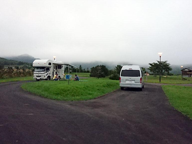 羅臼オートキャンプ場2