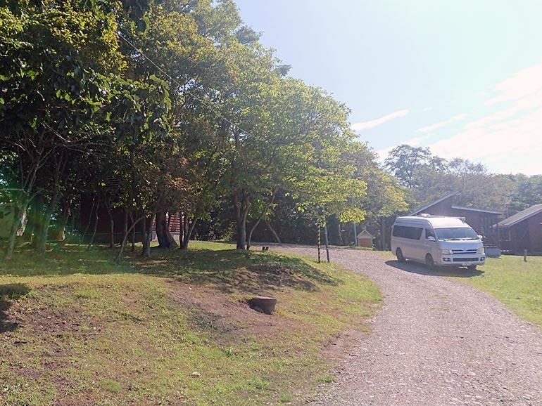 判官館森林公園オートキャンプ場