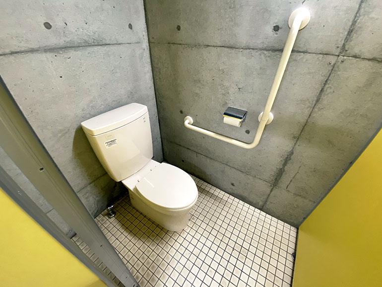 咸陽島公園 トイレ