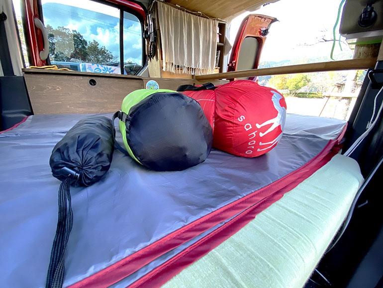 キャンプ用 寝具