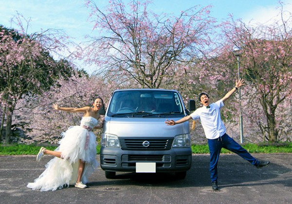 車旅で日本一周する夫婦