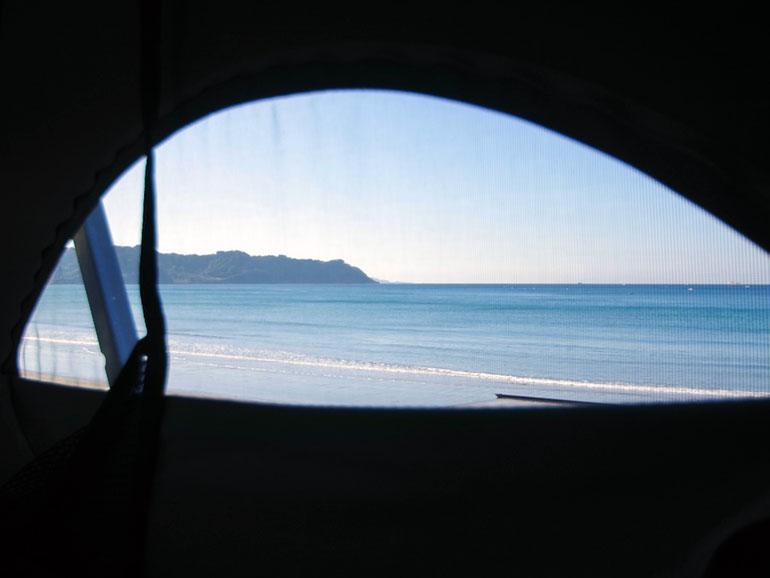 ポップアップルーフ 窓