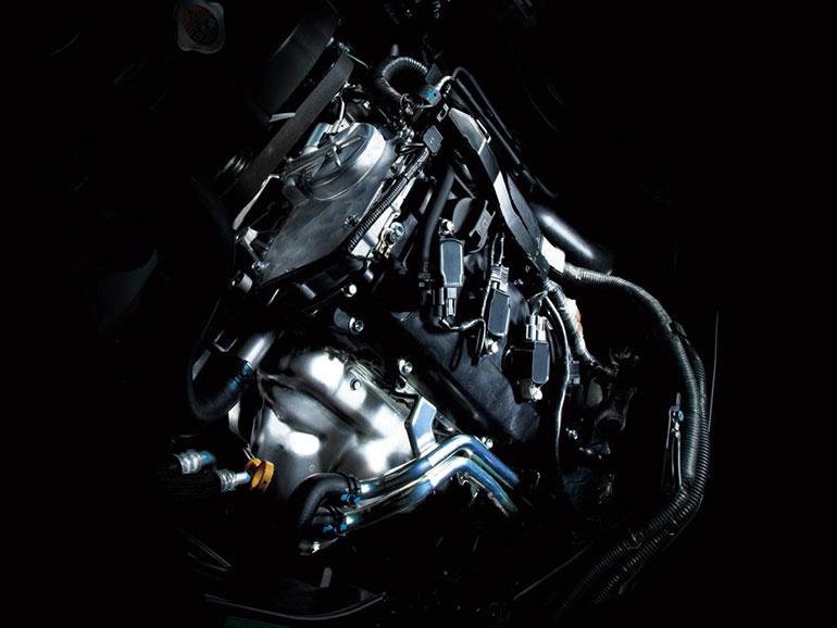 キャラバンのエンジン
