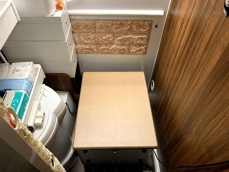 折り畳みテーブルの天板